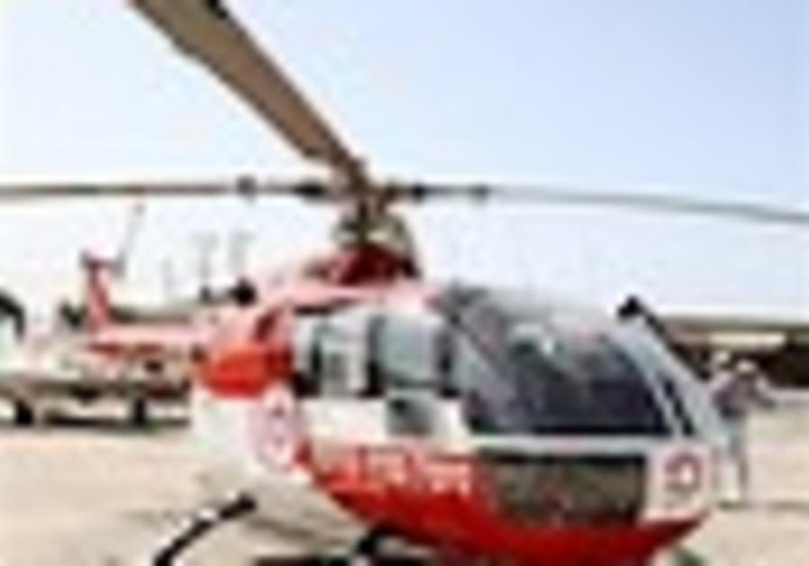 MDA puts flying ambulance on duty