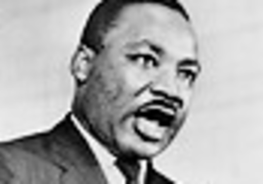 When people criticize Zionism, they mean Jews, said Martin Luther King