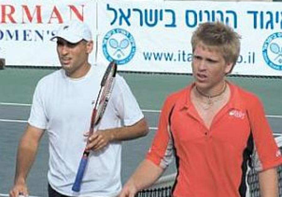 TENNIS: Ram, Hadash reach Ra'anana quarters