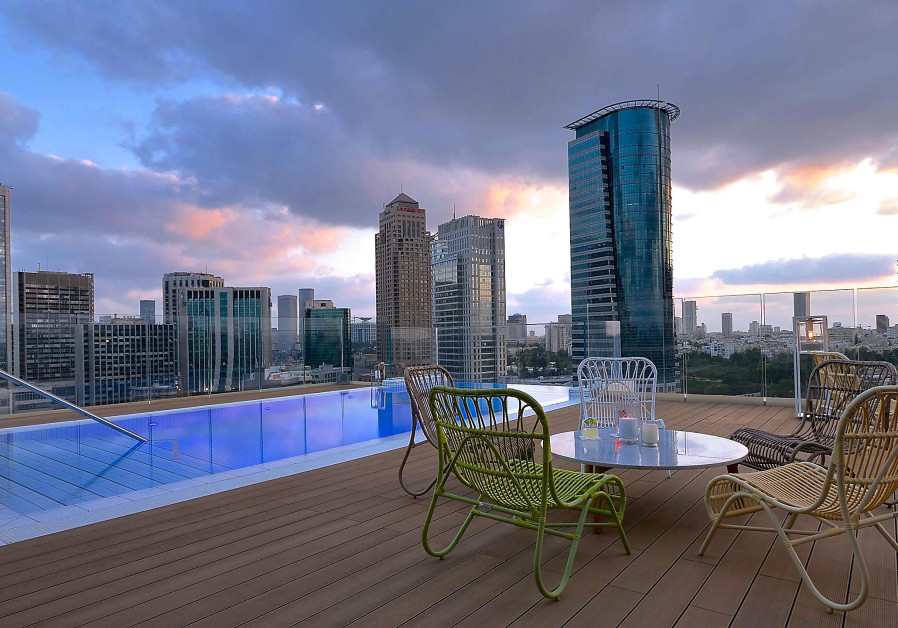 One of Ronit Copeland's projects is the spectacular Indigo Hotel in Tel Aviv (ITAY SIKOLSKI)