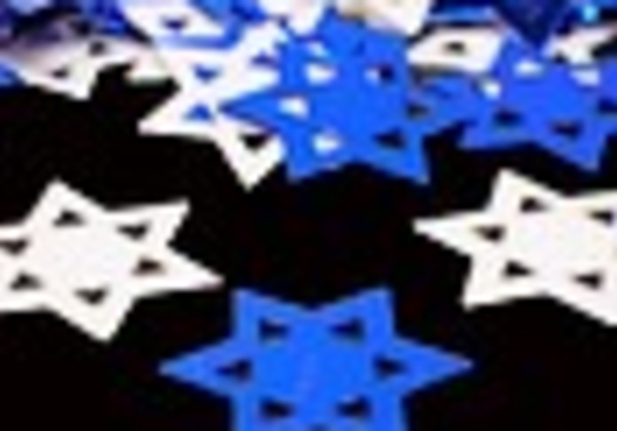 Yellow and blue stars