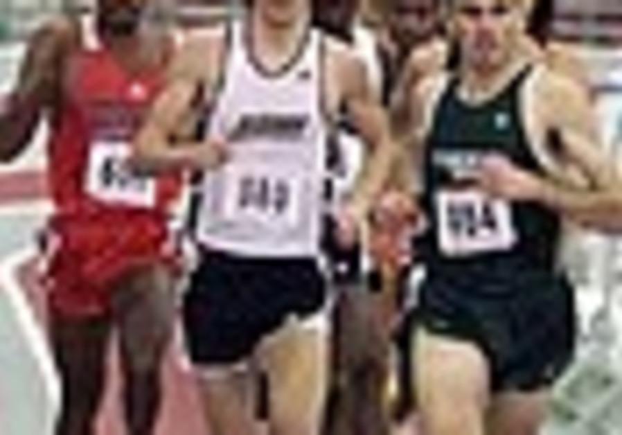 Athletics: Israeli runner places 8th at indoor Euros
