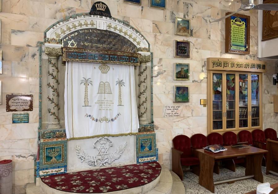 TIBERIAS GREAT Synagogue exterior and interior. ETZ CHAIM Abulafia Synagogue, exterior and interior. (Jacob Solomon)