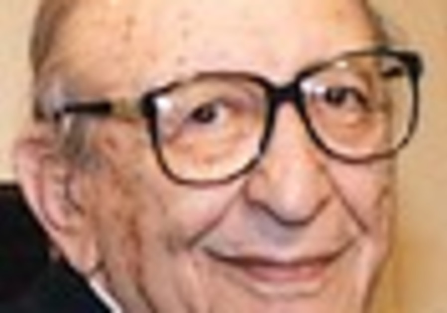 Former Jewish Agency leader Max Fisher honored in J'lem