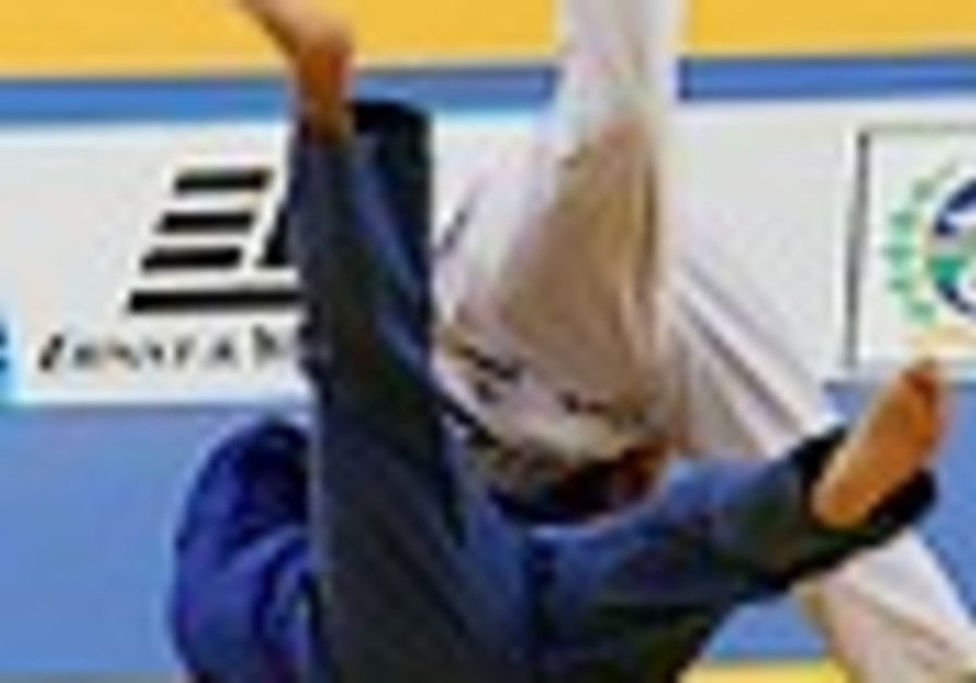 Thirteen-year-old judo champ takes on the big boys