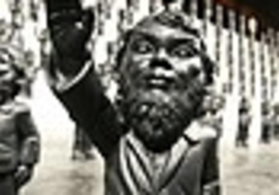 German prosecutors investigate 'Nazi gnome'