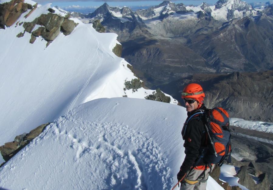 On top of Mt. Matterhorn    Photo credit: Yoram Kraus