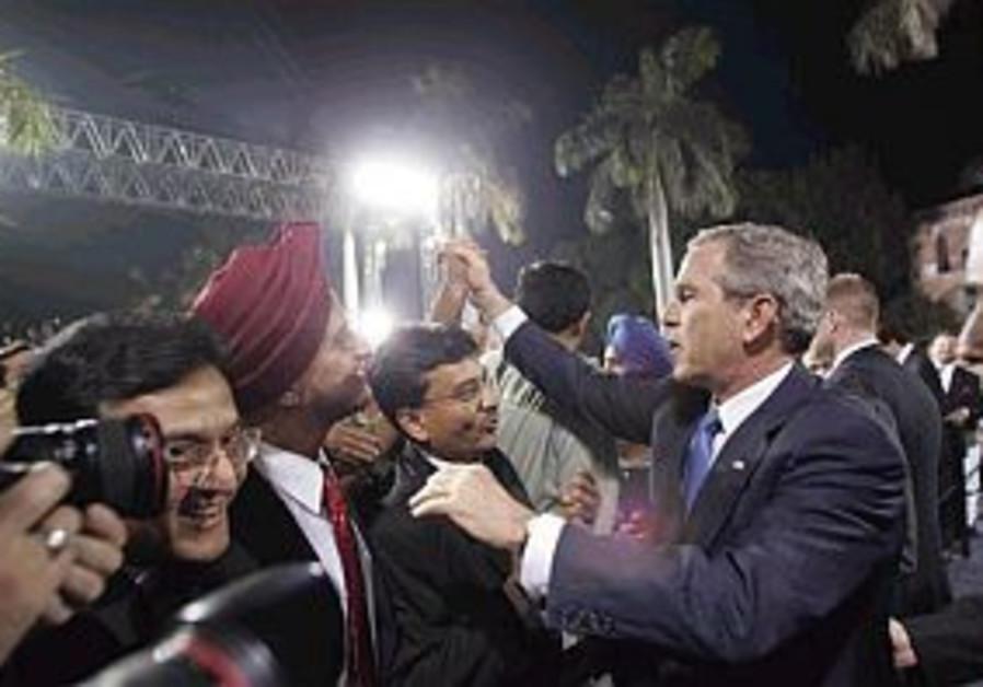 bush in india 298.88