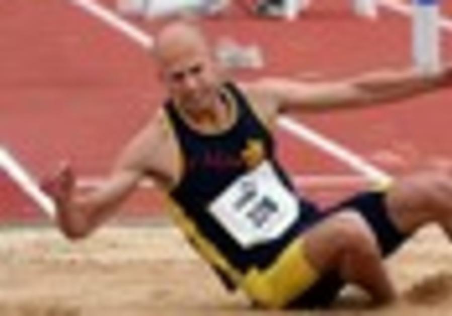 Israeli triple jumper misses the call
