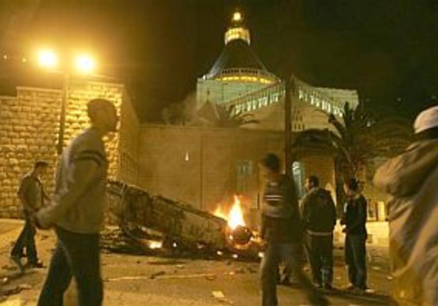 nazareth church attack