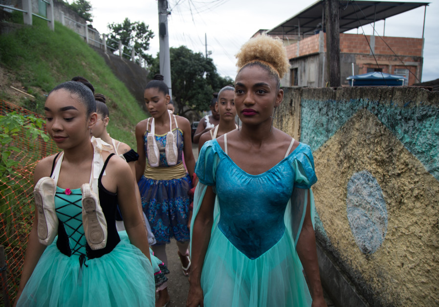 TUANY NASCIMENTO (right) became a ballet dancer in one of the toughest favelas in Rio de Janeiro and created the On Tip Toe Ballet Academy there. Sebastian Gil Miranda