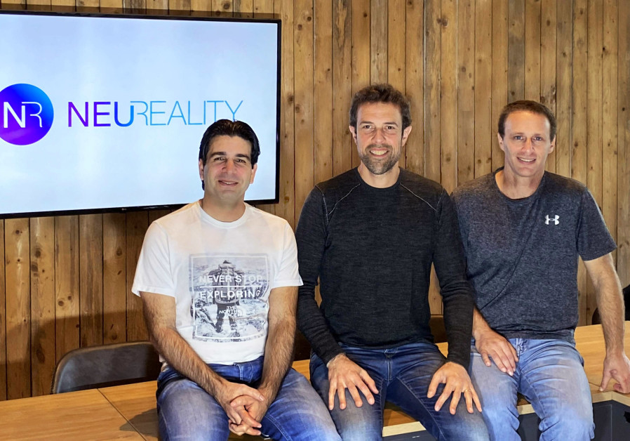 Neureality founders. From left to right - VP VLSI Yossi Kasus, CEO Moshe Tanach, VP Operations Tzvika Shmueli. (NeuReality)