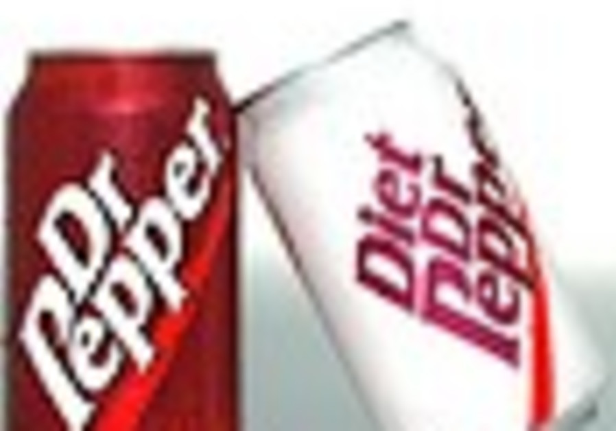Feeling a bit Jewish? Have some Dr. Pepper!