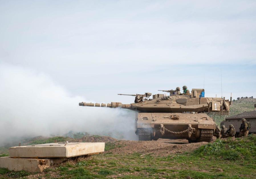 "The 401st ""Iron Tracks"" Brigade/ IDF SPOKESPERSON'S OFFICE"