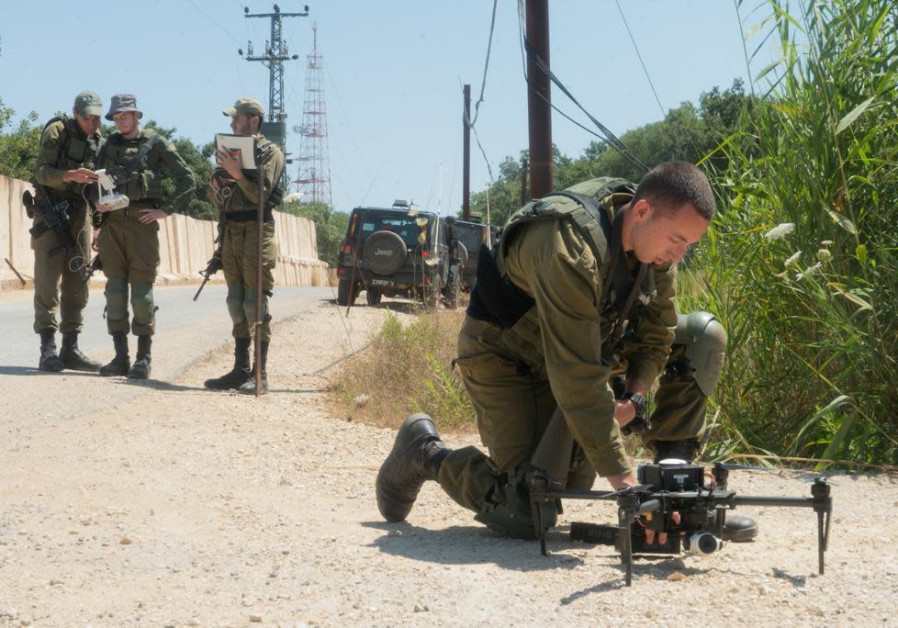 IDF gets ready for Hezbollah along the Israeli-Lebanese border. (IDF)