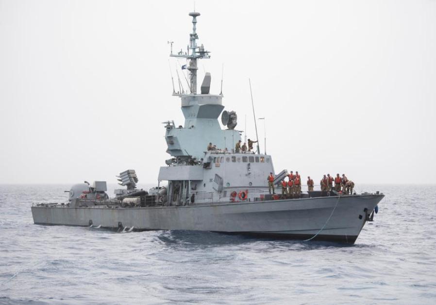 Pelaut di OC INS Eilat ambil bagian dalam latihan angkatan laut pertama yang diadakan sejak COVID-19 pecah / IDF SPOKESPERSON'S UNIT