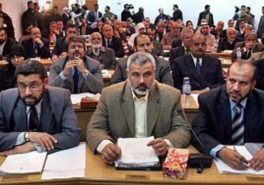 Haniyeh okays contacts with Israelis