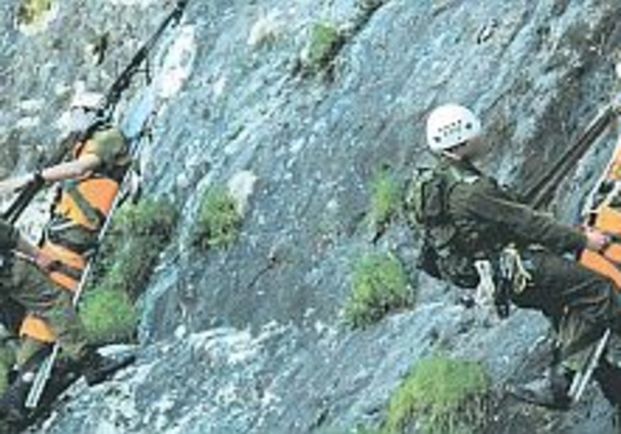 Rescue unit trains for long-range ops
