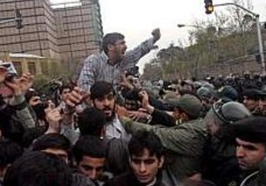 Iranians Protest Embassy248.88