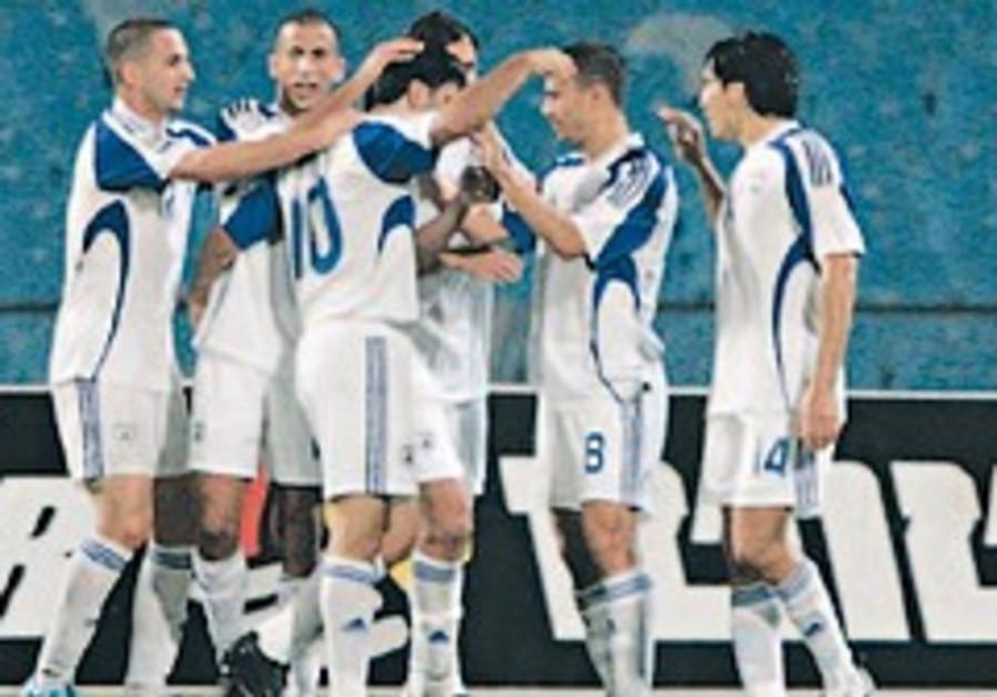 soccer israel team celebrates 248