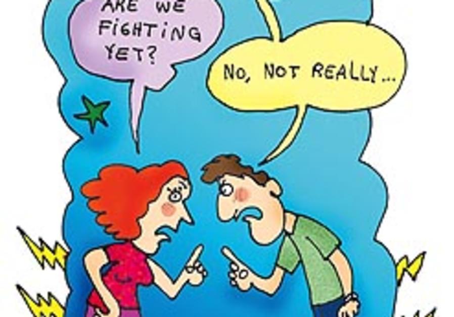 love quarrel couple bickering 248 pepe