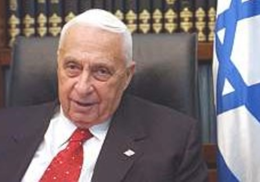 Ariel Sharon slumps 248.88