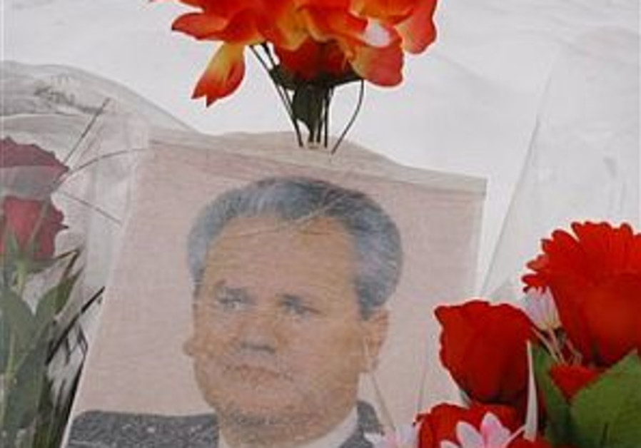 Serbian Jews don't cry for Milosevic