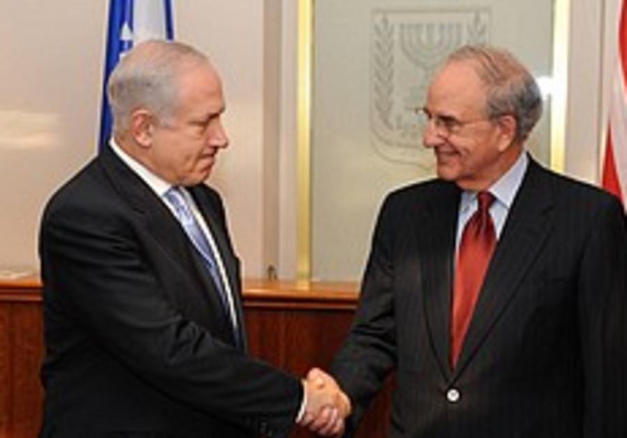 Netanyahu mitchell firm handshake 248.88