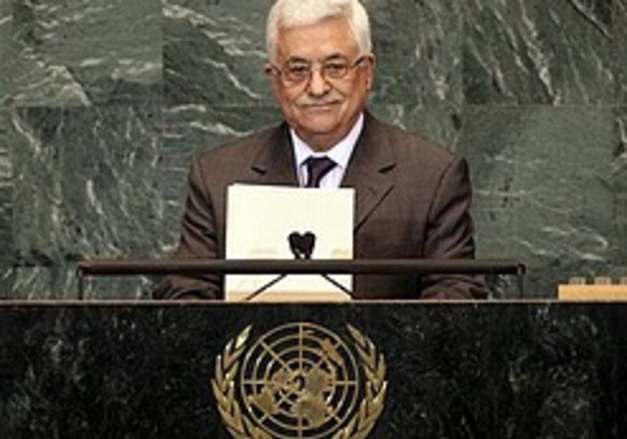 abbas docile at the un 248 88 ap