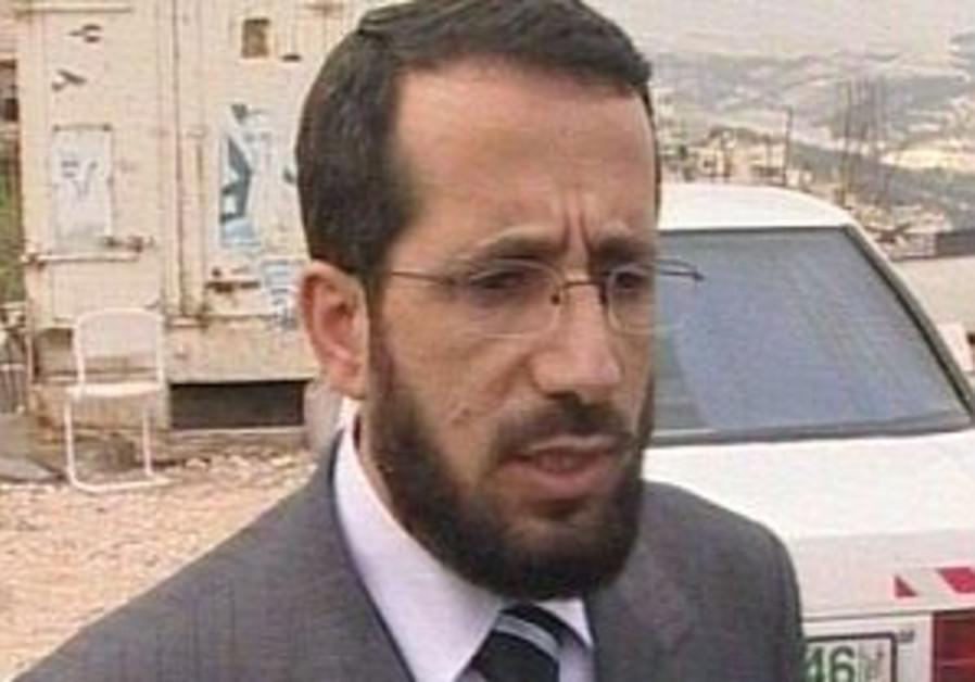 Hamas minister of Jerusalem affairs Khaled Abu Ara