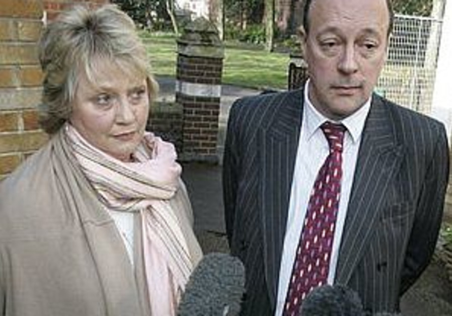Anthony and Jocelyn Hurndall, parents of Tom Hurnd