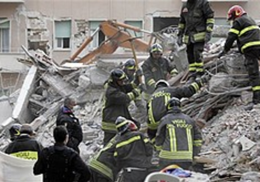 Italian Jews rush to aid quake victims
