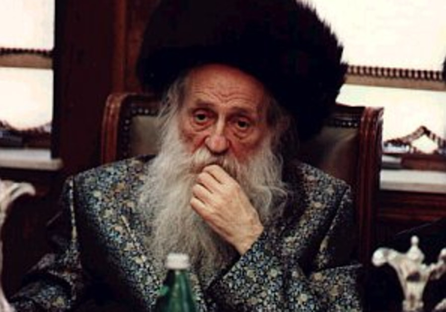 The rebbe and the chancellor