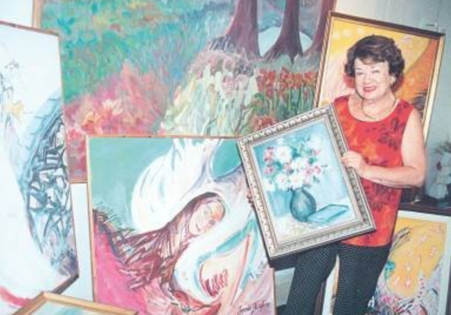 Young painter's art saved her from Nazis