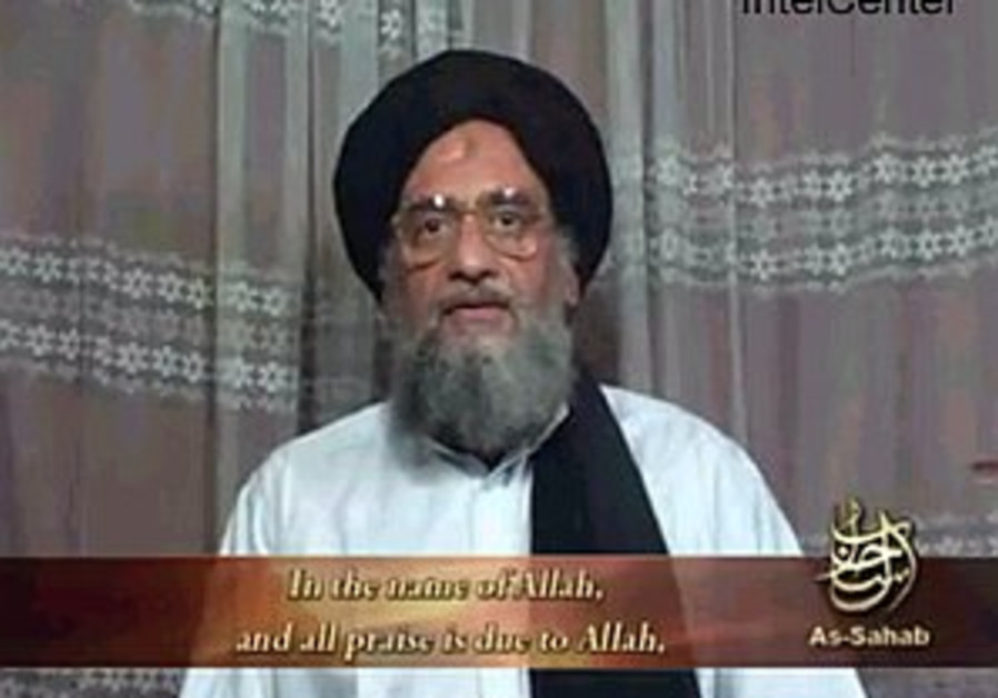Al-Zawahri threatens Israel in new tape