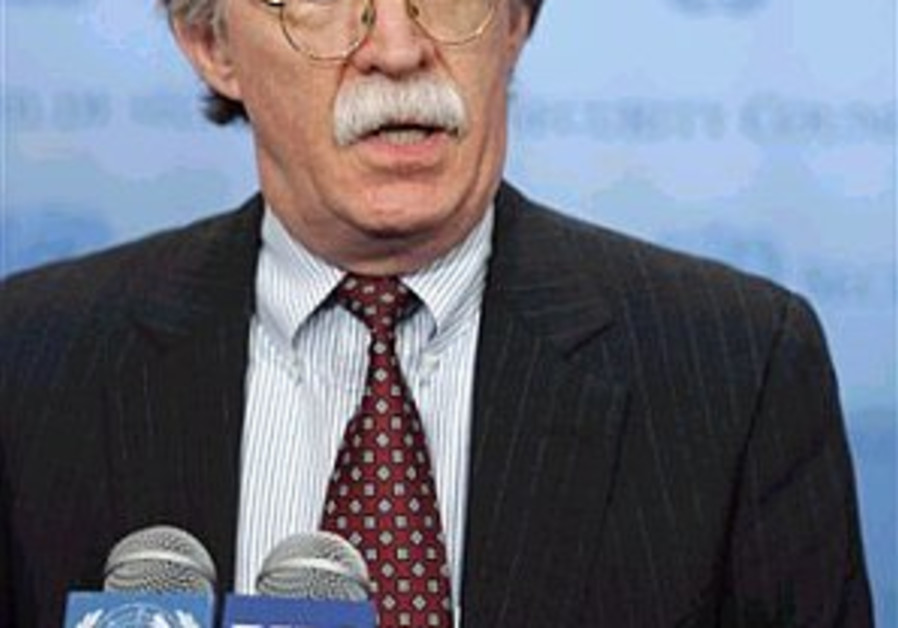 Bolton: N. Korea, Iran will never give up nuke ambitions