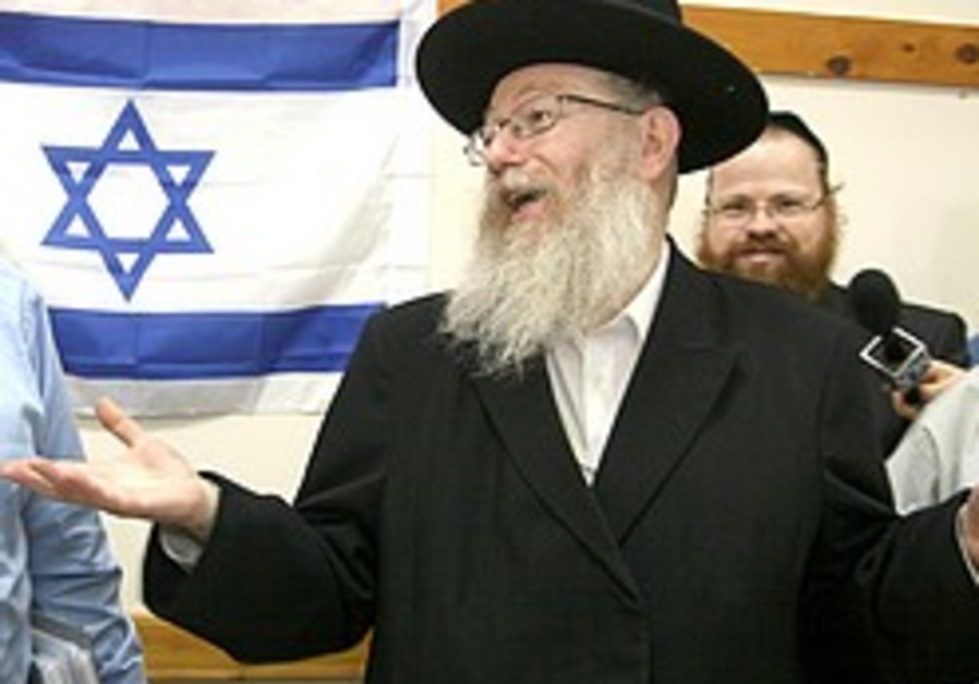 Litzman says he plans to shake up medical system