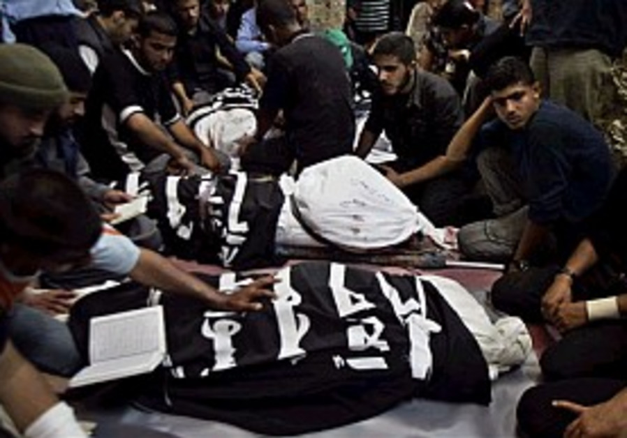 Palestinians: Man killed by shelling