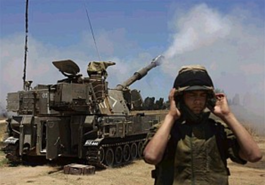 shelling gaza with artillery 298.88