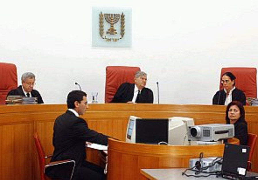 Court considers law on Palestinians married to Israelis