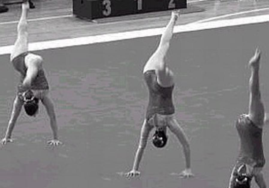 Gymnastics GP comes to Holon