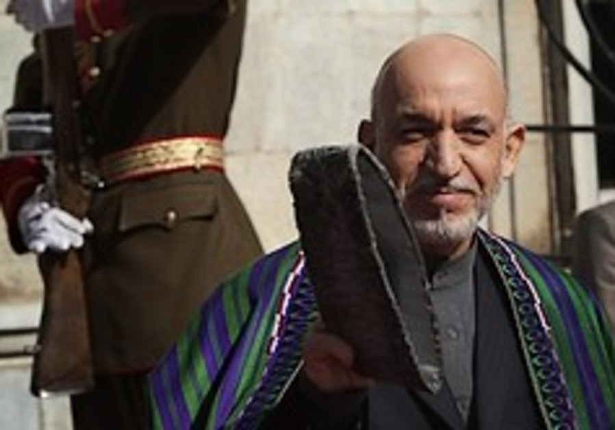 karzai wins presidency nov2 09