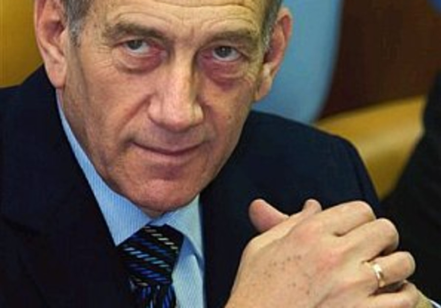 Analysis: Olmert realigns master plan
