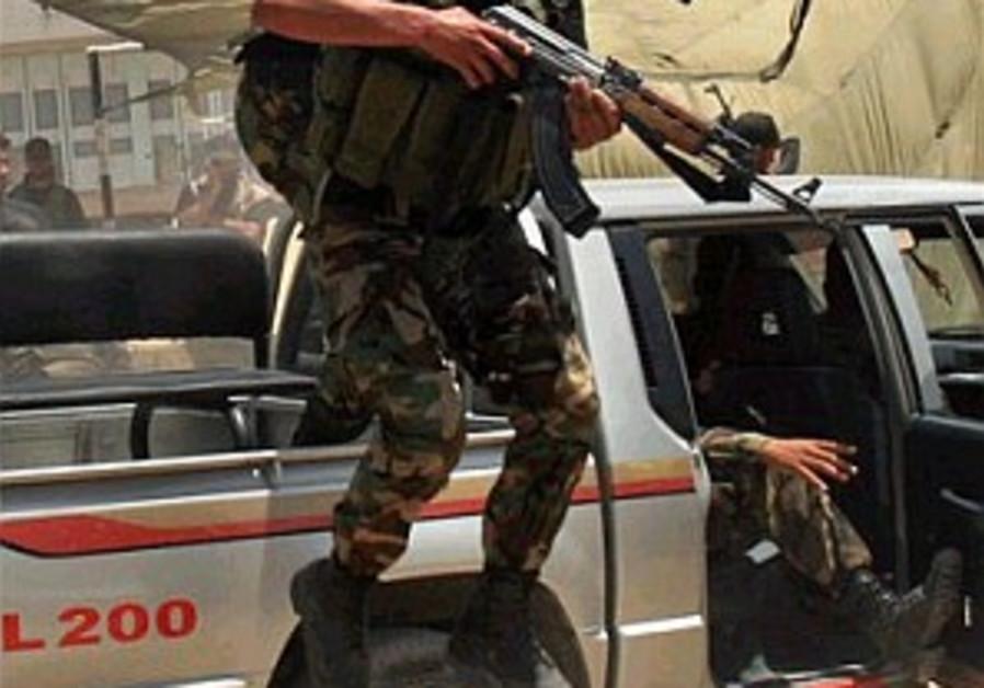 Palestinians form c'tee on violence