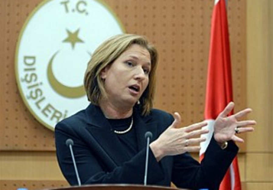Livni to meet top US official on Iran