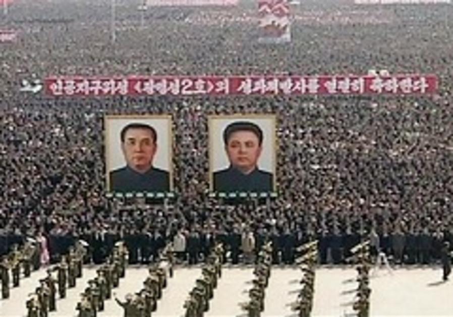 North Korea holds massive pro-rocket rally
