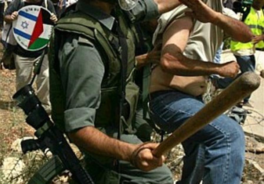 Barakeh: Bil'in protesters didn't attack