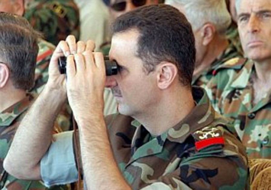 assad in uniform 298 ap