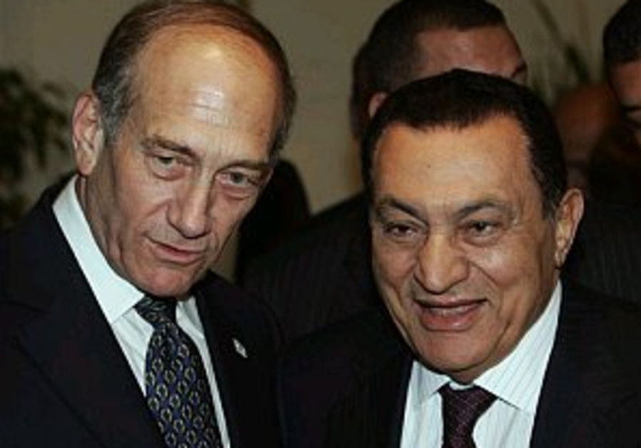 Egyptians give mixed reactions to Mubarak-Olmert meeting