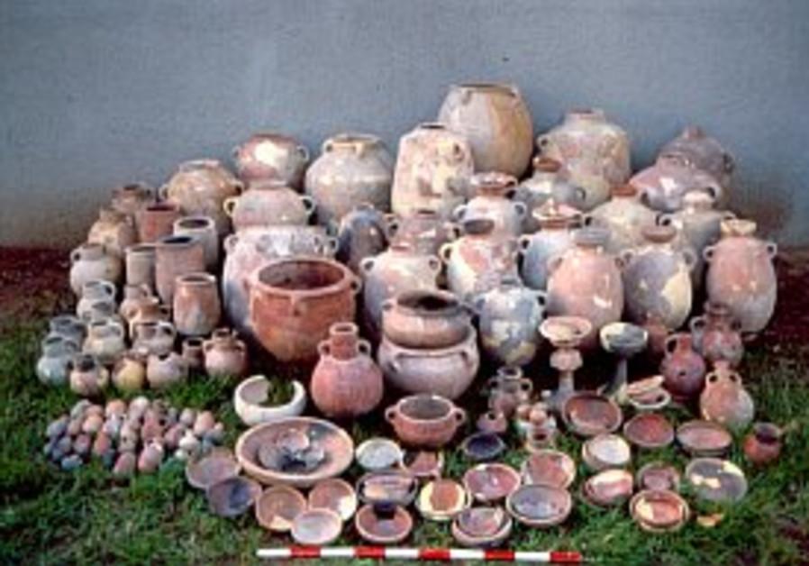 Bar Ilan archaeological excavation 298